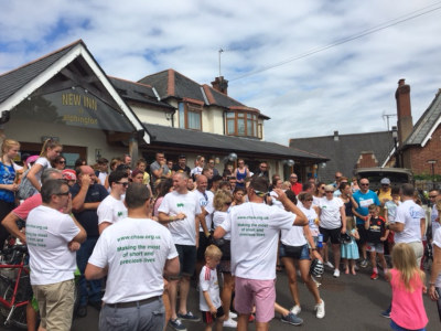 Children's Hospice South West & Force Cancer Charity bike ride